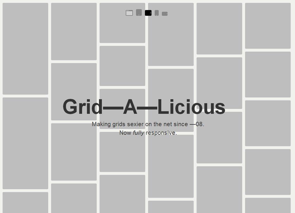 Grid-A-Licious浮动网格布局插件