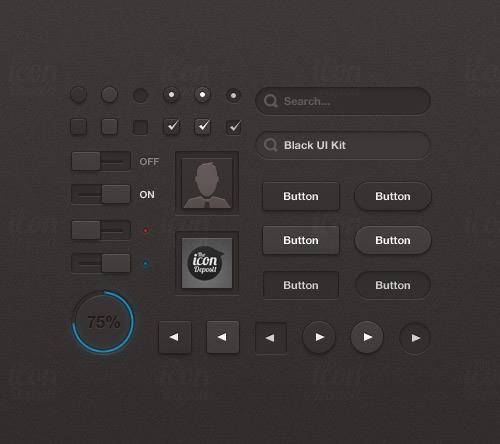 免费的UI组件包纯手工制作