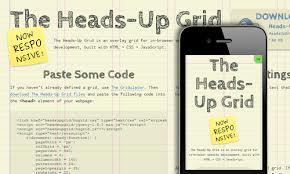 The Heads-Up Grid轻量级的响应式框架