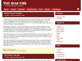 YUI CSS Grids轻量级响应式框架