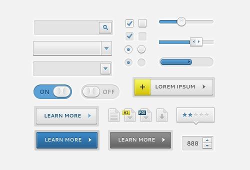 Clean UI Elements