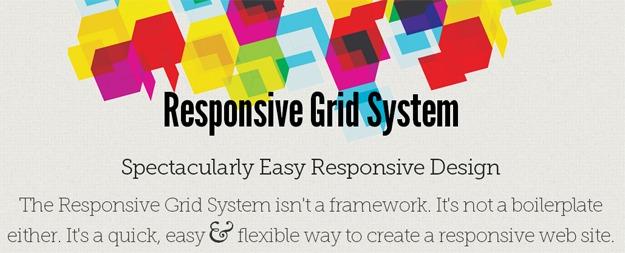 Responsive Grid System强大灵活的响应式框架