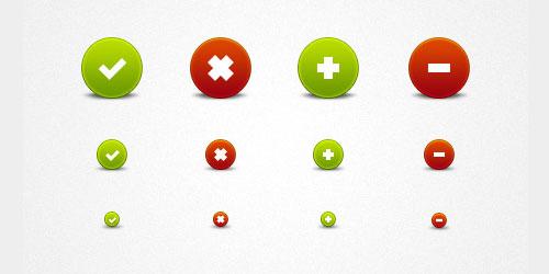 Pretty Round Buttons