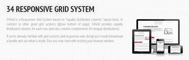 34GRID : 新型网页网格系统