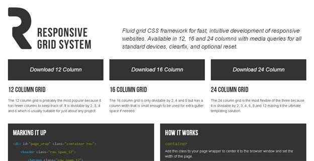 Responsive.gs超级轻量级CSS框架