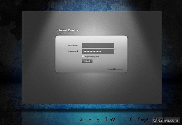 管理网站模板5