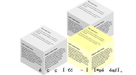 多种3D立方体