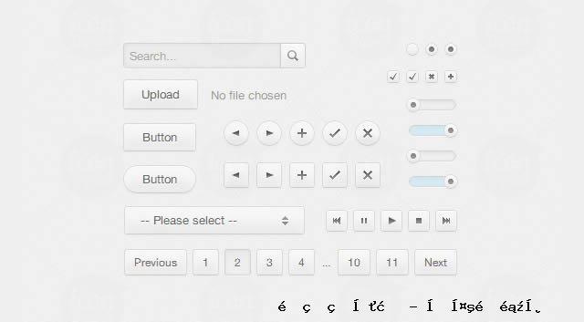 CSS3 UI工具包