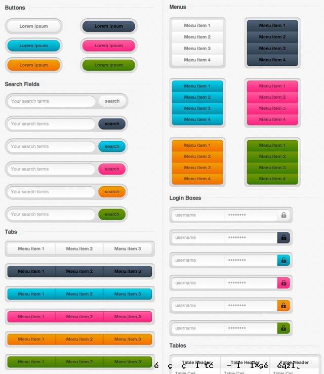 设计师CSS UI工具包
