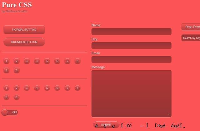 纯CSS UI工具包
